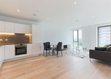 Thumbnail 1 bed flat to rent in Carrick House, Royal Wharf, London