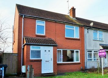 Thumbnail 3 bedroom end terrace house for sale in Hamilton Close Walcot, Swindon