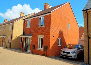 Thumbnail 3 bed detached house for sale in Gilbert Avenue, Biggleswade