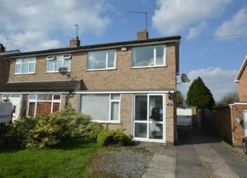 Thumbnail 3 bed semi-detached house for sale in Langley Close, Huncote, Leicester