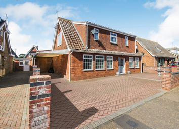 Thumbnail 4 bed property for sale in Chapman Avenue, Caister-On-Sea, Great Yarmouth