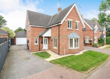 Thumbnail 4 bed detached house for sale in Spring Field Close, Sigglesthorne, Hull