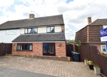 Thumbnail 4 bed semi-detached house for sale in Rowntree Way, Saffron Walden, Essex