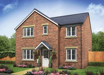 "Thumbnail 5 bed detached house for sale in ""The Corfe"" at Old Crow Hall Lane, Cramlington"
