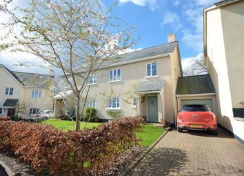 Thumbnail 3 bed semi-detached house for sale in Caversham Close, Christow, Exeter