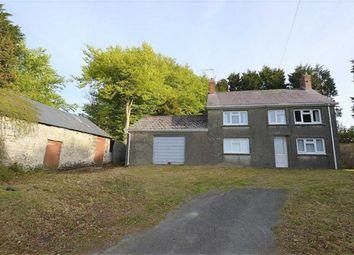 Thumbnail 4 bed farmhouse for sale in Penllethr, Penuwch, Tregaron