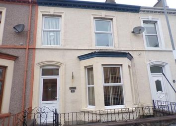 Thumbnail 3 bed terraced house for sale in Dinorwic Street, Caernarfon, Gwynedd