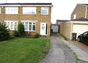 Thumbnail 3 bed semi-detached house for sale in Felixstowe Close, Hartlepool