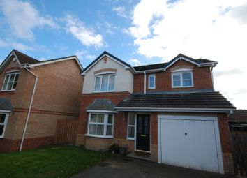 Thumbnail 4 bed detached house to rent in Warren Court, Ashington