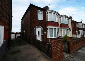 Thumbnail 3 bed semi-detached house for sale in Thames Road, Redcar, Cleveland