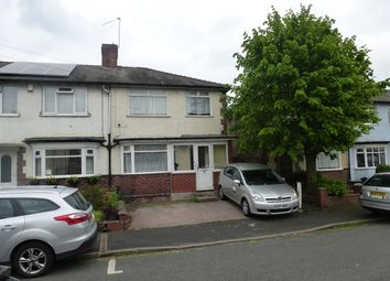 Thumbnail 3 bedroom end terrace house for sale in Morris Street, West Bromwich