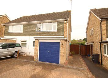 Thumbnail 3 bed semi-detached house for sale in Bitterne Avenue, Tilehurst, Reading