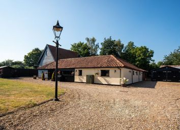 Thumbnail 7 bed barn conversion for sale in Old Bury Road, Palgrave, Diss