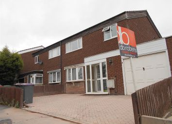 Thumbnail 3 bed semi-detached house to rent in Churchway, Stirchley, Telford