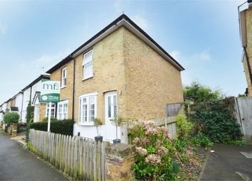 Thumbnail 2 bed semi-detached house for sale in Thistlecroft Road, Hersham, Surrey