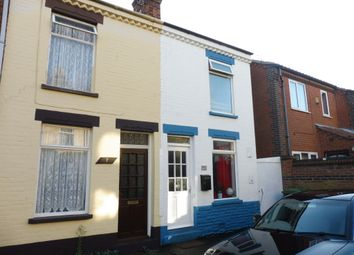 Thumbnail 2 bedroom end terrace house for sale in Coronation Terrace, Great Yarmouth