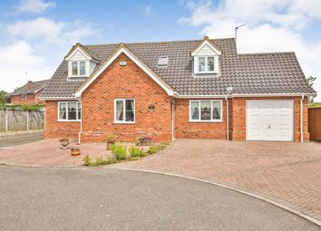 Thumbnail 3 bed detached house for sale in Merryfield Close, Swanton Morley, Dereham