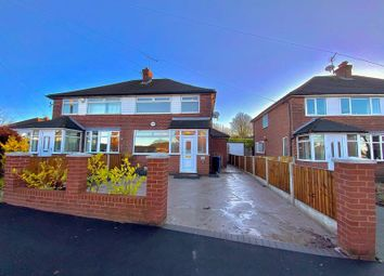 Thumbnail 3 bed semi-detached house for sale in Charnwood Road, Woodley, Stockport