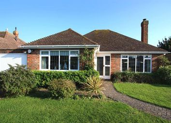 Thumbnail 3 bed detached bungalow for sale in Sark Gardens, Ferring, West Sussex