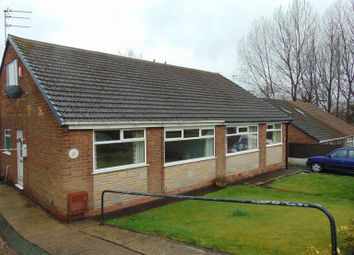 Thumbnail 3 bed semi-detached bungalow for sale in 17 Ashfield Crescent, Springhead, Oldham