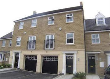Thumbnail 3 bed town house for sale in Spinners Close, Halifax