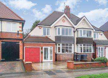 Thumbnail 3 bed semi-detached house for sale in Ingestre Road, Birmingham