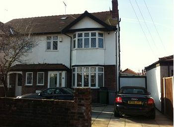 Thumbnail 5 bed semi-detached house to rent in The Aubynes, Wallasey