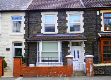 Thumbnail 3 bed terraced house for sale in Brithweunydd Road, Trealaw, Rhondda Cynon Taff.