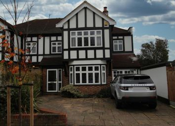 4 bed semi-detached house for sale in Ashleigh Gardens, Upminster, Essex RM14
