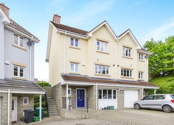 Thumbnail 4 bed town house for sale in Kingfisher Close, Brentry, Bristol