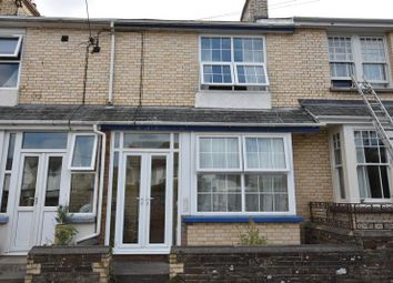 Thumbnail 3 bed terraced house to rent in Burrough Road, Northam, Bideford