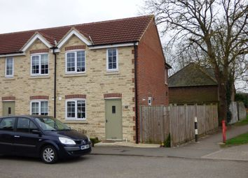 Thumbnail 2 bed end terrace house to rent in Church Way, Stratton St. Margaret, Swindon