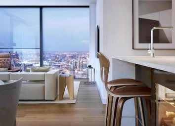 Thumbnail 2 bed flat for sale in Valiant Tower, South Quay Plaza, Canary Wharf, London