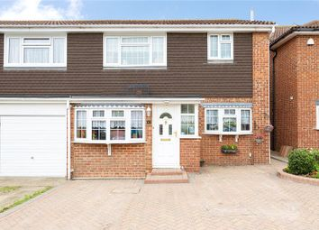 Thumbnail 3 bed semi-detached house for sale in Swanbourne Drive, Hornchurch