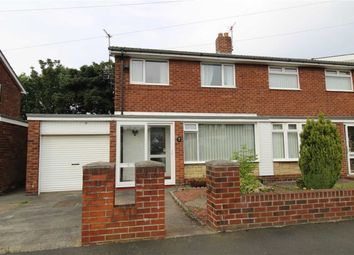 Thumbnail 3 bed semi-detached house for sale in Feetham Avenue, Forest Hall, Newcastle Upon Tyne