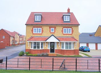 Thumbnail 5 bed detached house for sale in Kingfisher Road, Shepton Mallet
