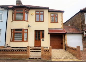 Thumbnail 4 bedroom semi-detached house for sale in Hainault Road, Romford