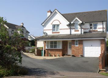 Thumbnail 4 bedroom detached house for sale in Hill Hay Close, Fowey