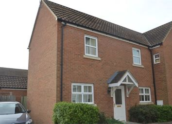 Thumbnail 2 bedroom semi-detached house to rent in Christie Drive, Huntingdon