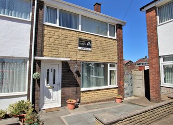 Thumbnail 3 bed end terrace house for sale in Lodge Close, Bamber Bridge, Preston