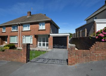 Thumbnail 3 bed semi-detached house for sale in Cae Cotton, Llanelli