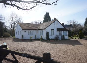 Thumbnail 3 bed detached bungalow for sale in Yarmouth Road, Broome, Bungay