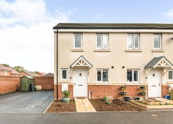 Thumbnail End terrace house for sale in Cowslip Crescent, Newton Abbot