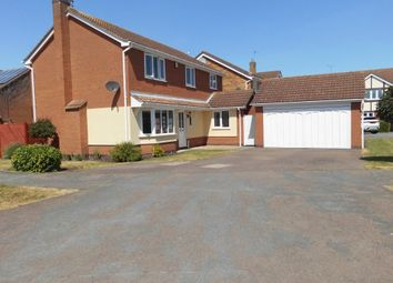 Thumbnail 4 bed detached house for sale in Swallow Drive, Syston, Leicester