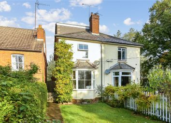 Thumbnail 3 bed semi-detached house for sale in Lascombe Lane, Puttenham, Guildford, Surrey