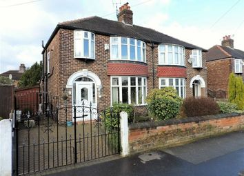 Thumbnail 3 bed semi-detached house for sale in Harcombe Road, Withington, Manchester