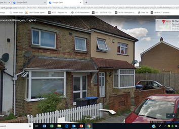 Thumbnail 3 bed terraced house to rent in Clements Road, Ramsgate