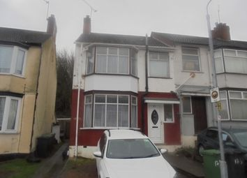 Thumbnail 3 bed semi-detached house to rent in Runley Road, Luton