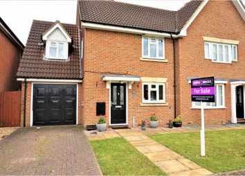 Thumbnail 3 bed semi-detached house for sale in Harris Close, Romford