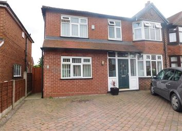 Thumbnail 4 bedroom semi-detached house for sale in Merwood Avenue, Heald Green, Stockport